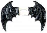Demonin mustat siivet vinyylistä halloween