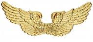 Kullanväriset enkelin siivet 88 x 25 cm