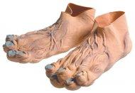 Lateksiset peikon jalat aikuiselle