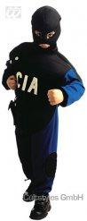Sinimusta CIA- naamiaisasu lapselle
