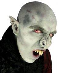 Harmaa lateksinen vampyyrin nenä aikuiselle