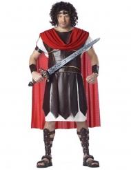 Roomalaisen gladiaattorin plus-kokoinen naamiaisasu miehelle