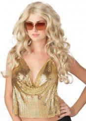 Blongi peruukki naiselle glamour