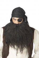 Merirosvon musta parta ja viikset