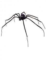 Musta hämähäkki 110 cm Halloween
