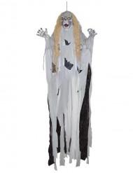 Jättimäinen monsteri- seinäkoriste halloweeniksi 360 cm
