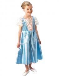 Prinsessan sinivalkoinen naamiaisasu lapselle