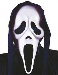 Ghost face™- mustavalkoinen aaveen naamari aikuiselle