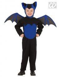 Mustasininen lepakko - Lasten halloween asu