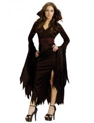 Pimeyden kuningatar - Halloween asu aikuisille