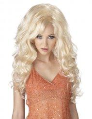 Blondi seksikäs peruukki naiselle
