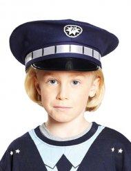 Sininen poliisihattu lapselle
