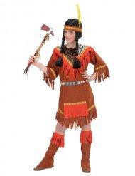 Värikäs intiaanin naamiaisasu lapselle