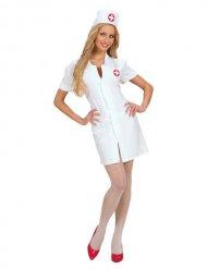 Seksikäs sairaanhoitajan mekko naiselle