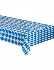 Sinivalkoinen baijerilaisliina 260 x 80 cm