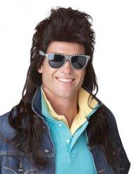 80-luvun rock-peruukki miehelle