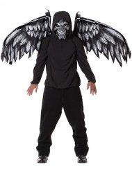 Kuoleman enkelin naamari ja siivet