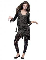 Zombin naamiaisasu naiselle halloween