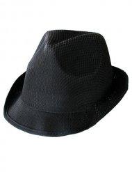 Musta borsalino-hattu aikuiselle