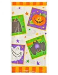 Paperinen Happy Halloween- pöytäliina 137x259 cm