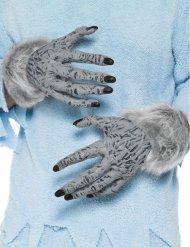 Ihmissuden kädet aikuiselle halloween