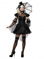 Goottikaunotar - aikuisten Halloween asu