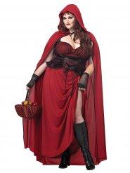 Gootti punahilkka - aikuisten Halloween-asu