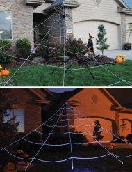 Jättimäinen hämähäkinseitti -puutarhakoriste 7 x 6 cm