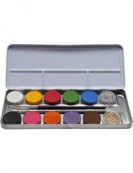 12 värin meikkipaletti