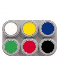 Grimas Aqua™ -meikkipaletti 6 väriä