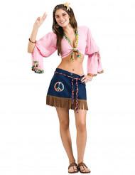 Hottis Hippi -naamiaisasu aikuiselle
