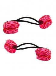 Vaaleanpunaiset aivot- hiuslenkit 2 kpl