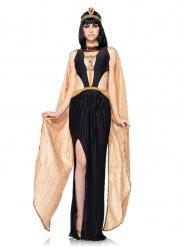 Egyptin kuningatattaren seksikäs musta asu naiselle