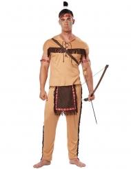 Hurja Haukka -intiaaniasu aikuiselle