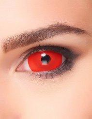 Punaiset sclera- piilolinssit aikuiselle