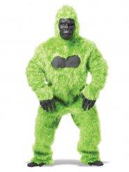 Vihreä gorilla-asu miehelle