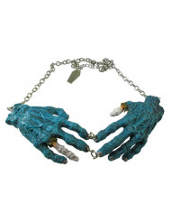 Zombin siniset kädet- kaulakoru