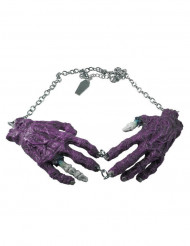 Zombin violetit kädet- kaulakoru