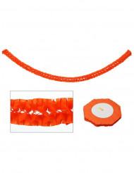 Oranssi paperiköynnös 270x15 cm