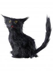 Musta kissa 12 cm halloween