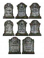 4 Kartonkista hautakiveä - Halloween koriste
