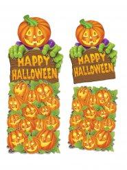 Kurpitsa- seinäkoriste Happy Halloween