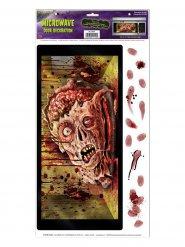 Zombie halloween mikrotarra 30 x 61 cm
