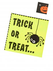 Trick or treat- servetit 20 kpl 33 x 33 cm