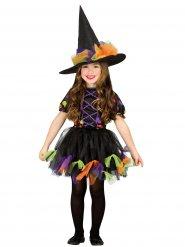 Tyllikäs Noita - lasten Halloween-naamiaisasu
