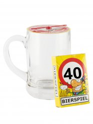 Oluttuoppi 40-vuotiaalle juomapelillä