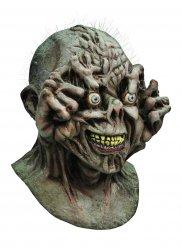 Monsterin harmaa halloween-naamari aikuiselle