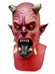 Demonin punainen halloween-naamari