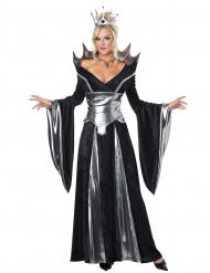 Ilkeä kuningatar - Halloween asu aikuisille