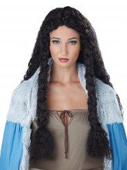 Kiharainen viikinkiperuukki naiselle